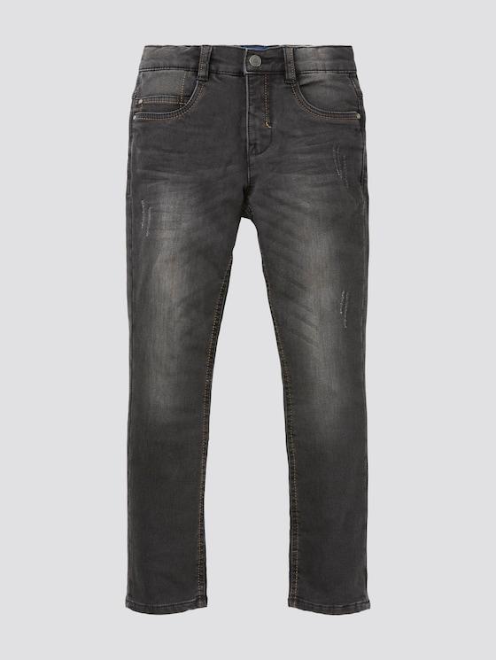 Jeans mit Waschung - Jungen - grey denim|gray - 7 - TOM TAILOR