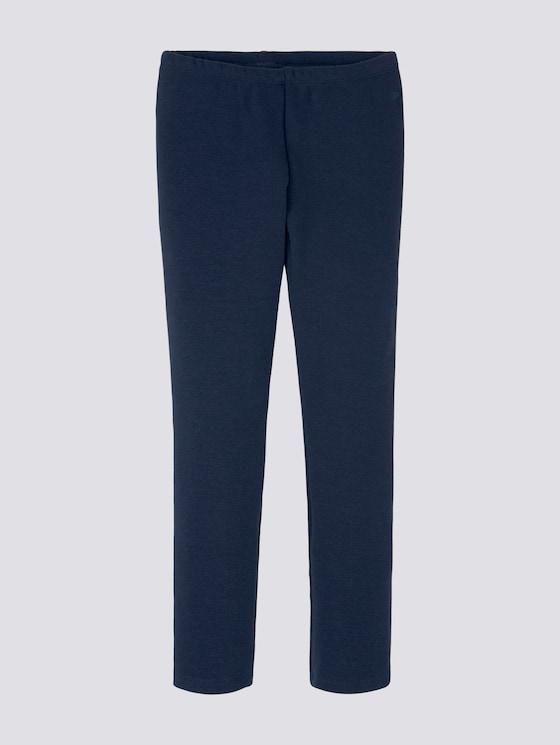 Leggins mit elatsischem Bund - Mädchen - dress blue|blue - 7 - Tom Tailor E-Shop Kollektion