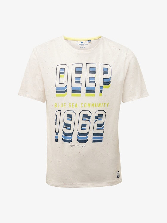 T-Shirt mit Schrift-Print - Jungen - original|original - 7 - TOM TAILOR
