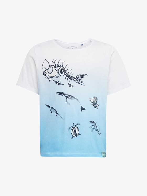 T-Shirt mit Print - Jungen - original|original - 7 - TOM TAILOR
