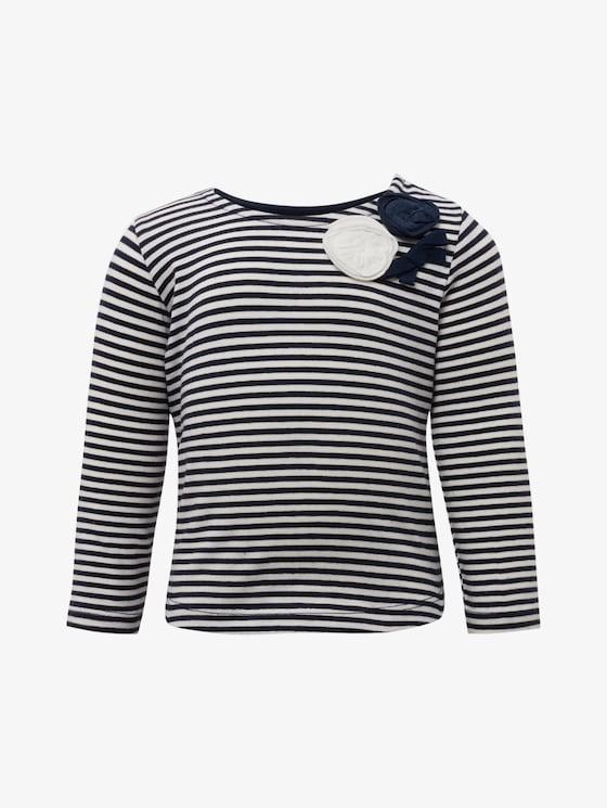 Gestreiftes Langarmshirt - Babies - y/d stripe|multicolored - 7 - TOM TAILOR