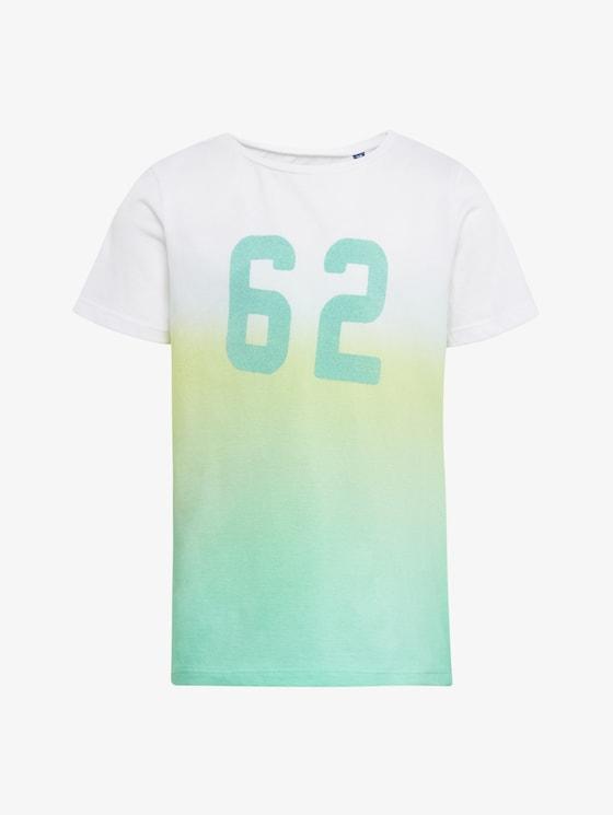 T-shirt met getallenprint - Jongens - original|original - 7 - TOM TAILOR