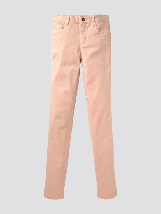 Farbige Jeans - Mädchen - peachy keen|rose - 7 - TOM TAILOR