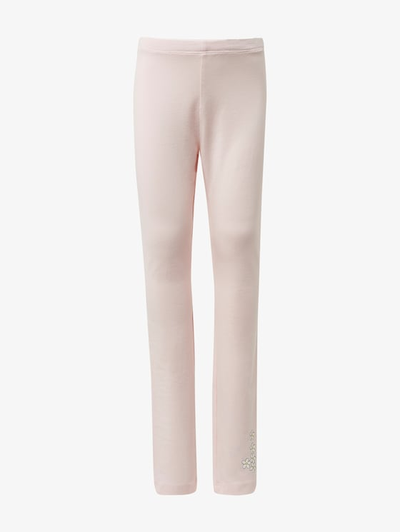 Leggings with print - Girls - ballet slipper|rose - 7 - TOM TAILOR