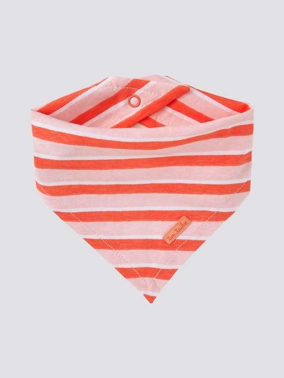 Gestreiftes Bandana - Babies - printed stripe|multicolored - 7 - TOM TAILOR
