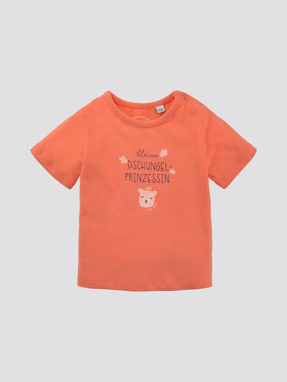 T-Shirt mit Print - Babies - peach echo|pink - 7 - TOM TAILOR
