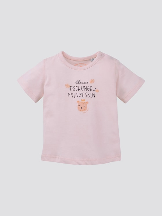 T-Shirt mit Print - Babies - ballet slipper|rose - 7 - TOM TAILOR