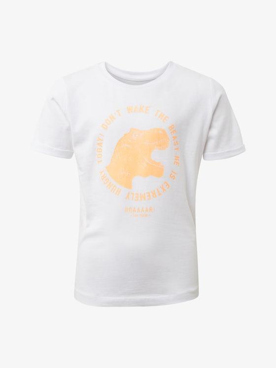 T-shirt met print - Jongens - original|original - 7 - TOM TAILOR