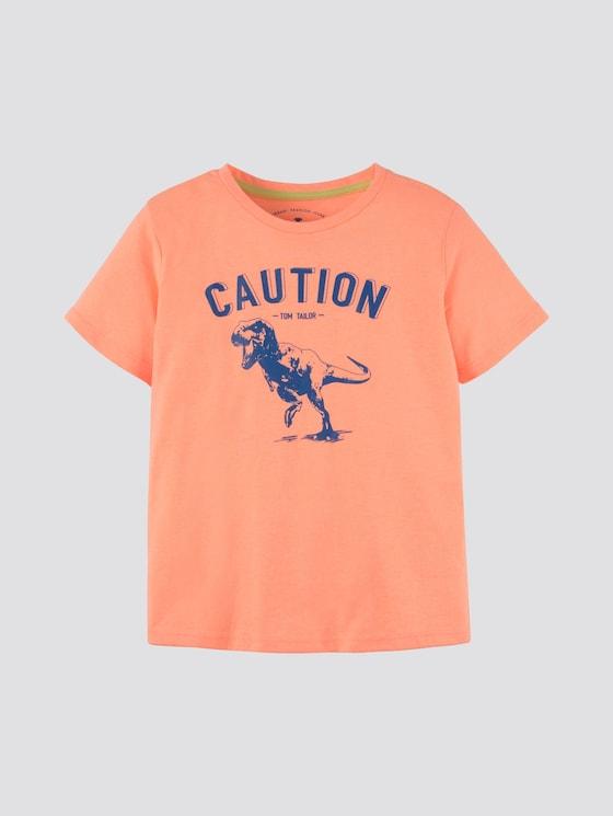 T-Shirt mit großflächigem Print - Jungen - original|multicolored - 7 - Tom Tailor E-Shop Kollektion