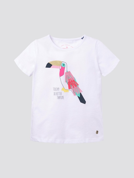 T-Shirt mit Print - Mädchen - original|original - 7 - Tom Tailor E-Shop Kollektion