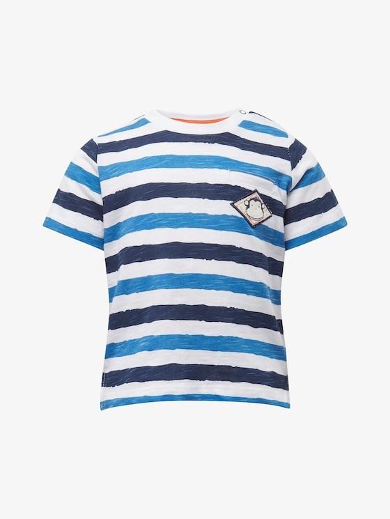 Gestreiftes T-Shirt - Babies - printed stripe|multicolored - 7 - TOM TAILOR