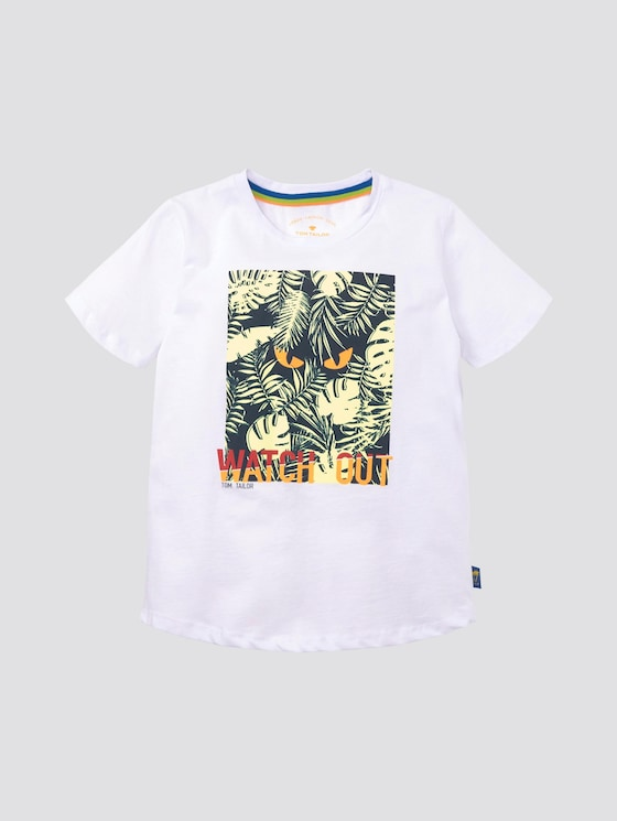 T-Shirt mit großflächigem Print - Jungen - original|original - 7 - Tom Tailor E-Shop Kollektion