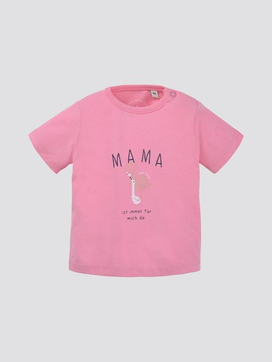 T-Shirt mit Print - Babies - sachet pink|rose - 7 - TOM TAILOR