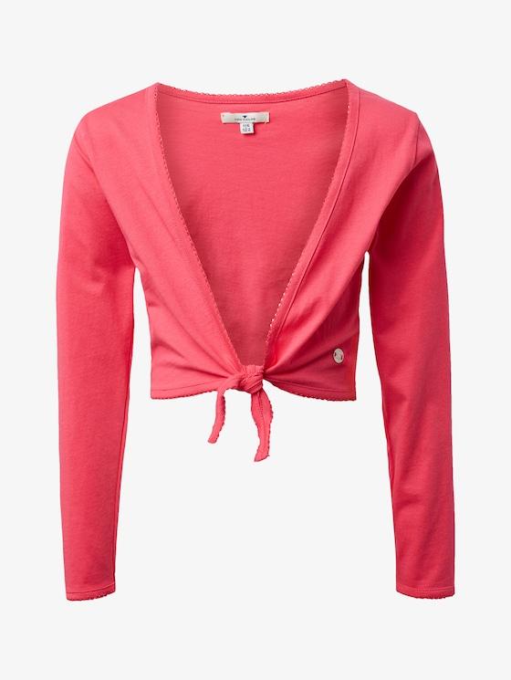 Jersey bolero - Girls - raspberry sorbet|pink - 7 - TOM TAILOR