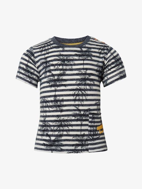 Gemustertes T-Shirt - Babies - y/d stripe|multicolored - 7 - TOM TAILOR