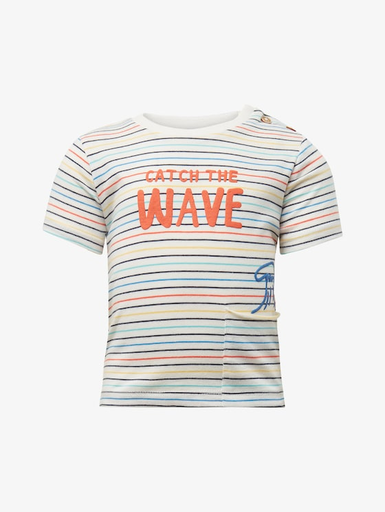 Patterned T-shirt - Babies - multicolour|multicolored - 7 - TOM TAILOR