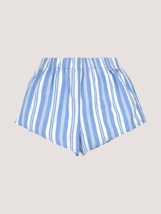 Gestreepte shorts - Meisjes - marina|blue - 7 - TOM TAILOR