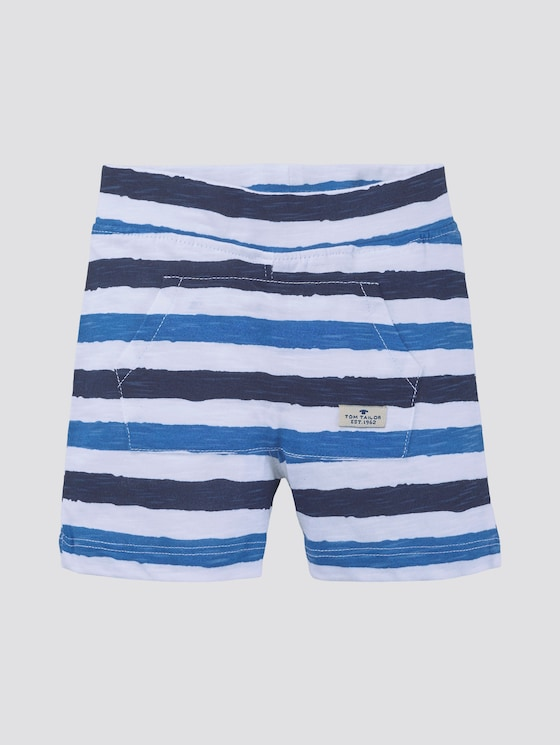 Gestreifte Shorts - Babies - printed stripe|multicolored - 7 - TOM TAILOR