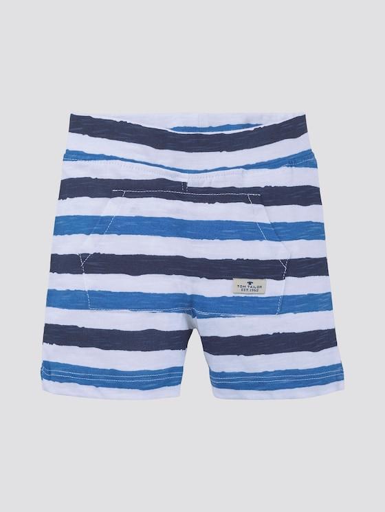 Gestreepte shorts - Babies - printed stripe|multicolored - 7 - TOM TAILOR