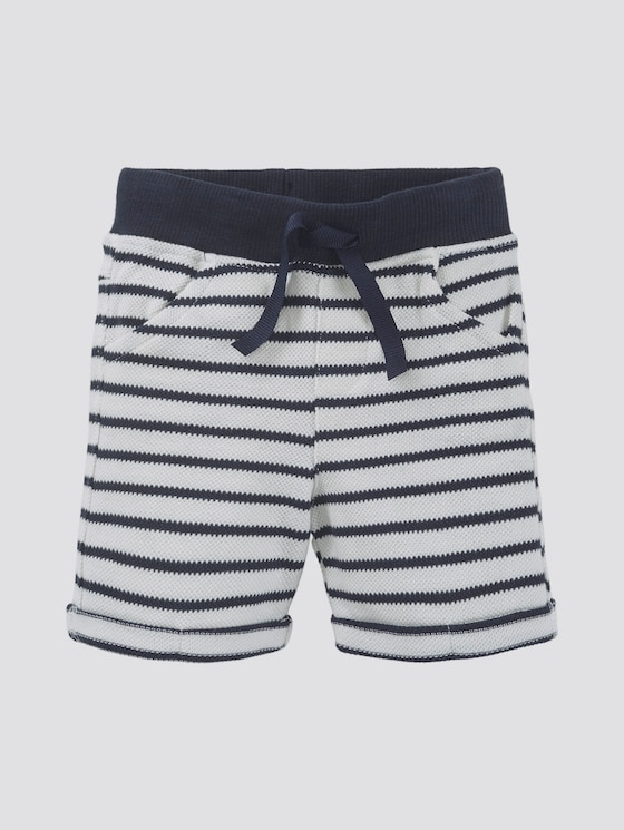 Striped Bermuda shorts - Babies - y/d stripe|multicolored - 7 - TOM TAILOR