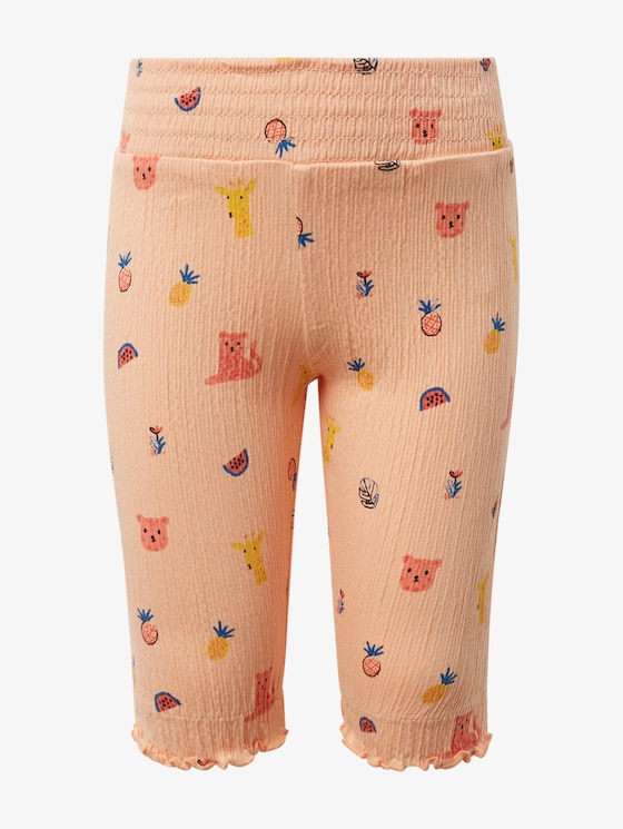 Joggingbroek met print - Babies - allover|multicolored - 1 - TOM TAILOR