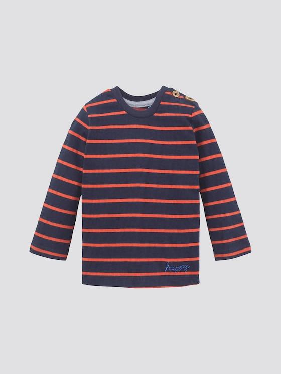 Gestreiftes Langarmshirt - Babies - navy blazer|blue - 7 - TOM TAILOR