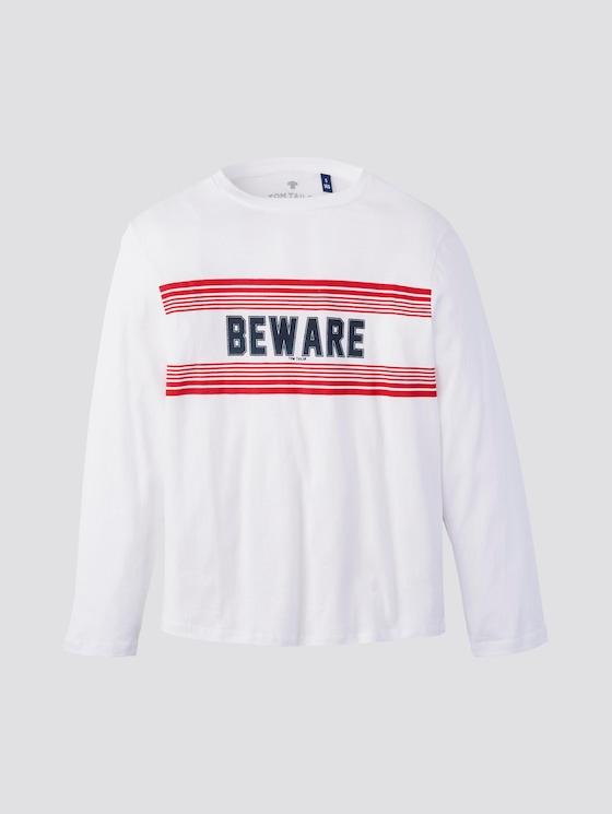 Lange mouwen shirt met print - Jongens - original|original - 7 - TOM TAILOR