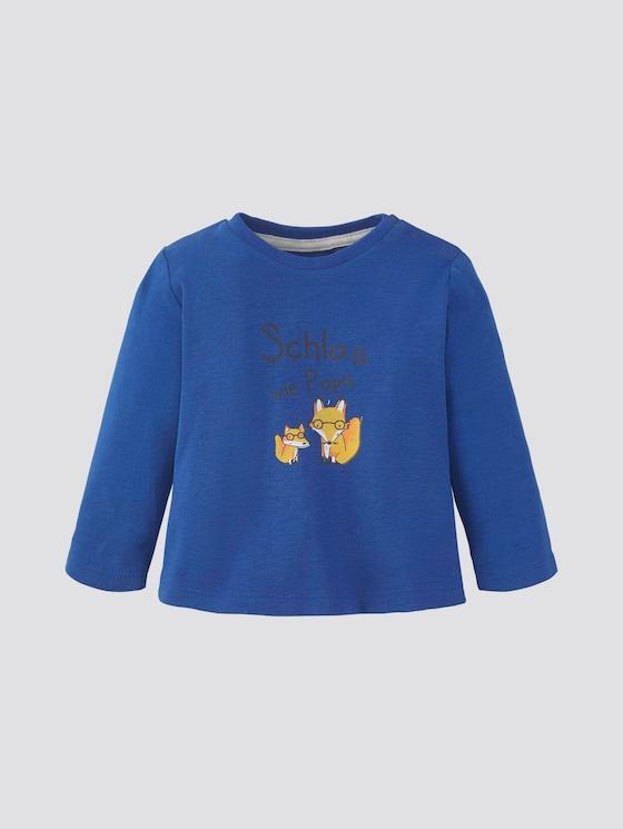 Langarmshirt mit Print - Babies - turkish sea|blue - 7 - Tom Tailor E-Shop Kollektion
