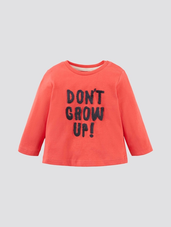 Langarmshirt mit Artwork - Babies - high risk red|red - 7 - Tom Tailor E-Shop Kollektion