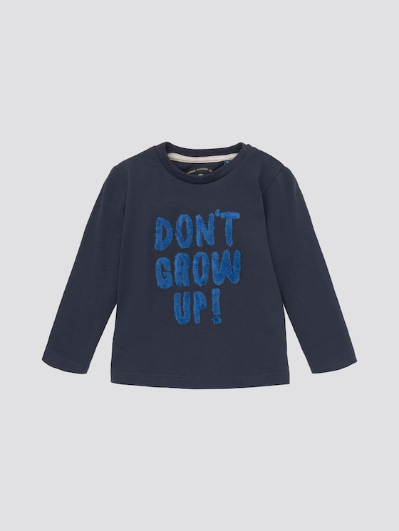 Langarmshirt mit Artwork - Babies - navy blazer|blue - 7 - Tom Tailor E-Shop Kollektion
