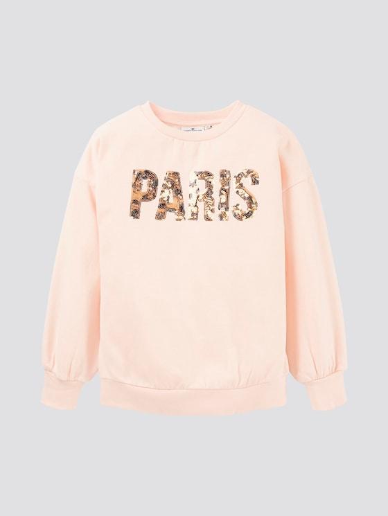 Sweatshirt mit Print - Mädchen - pearl blush|rose - 7 - TOM TAILOR
