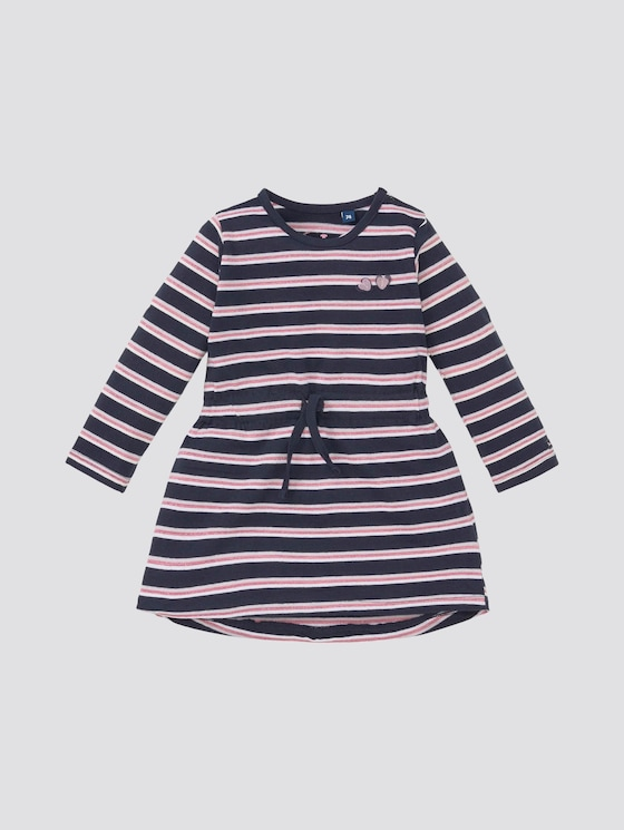 Gemustertes Kleid - Babies - black iris|blue - 7 - Tom Tailor E-Shop Kollektion