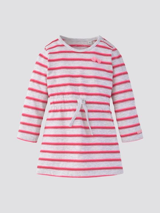 Gemustertes Kleid - Babies - lunar rock melange|beige - 7 - Tom Tailor E-Shop Kollektion