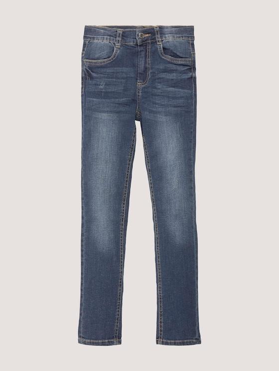 Jeans im Destroyed-Look - Mädchen - blue denim|blue - 7 - TOM TAILOR