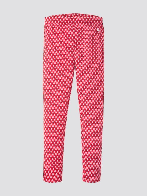 Leggins mit Sternen-Motiv - Mädchen - hibiscus|red - 7 - TOM TAILOR