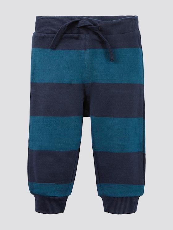 Gestreifte Jogginghose - Babies - navy blazer|blue - 7 - Tom Tailor E-Shop Kollektion