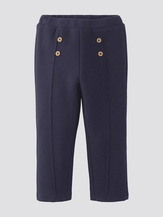 Jogginghose mit Zierknöpfen - Babies - navy blazer|blue - 7 - Tom Tailor E-Shop Kollektion