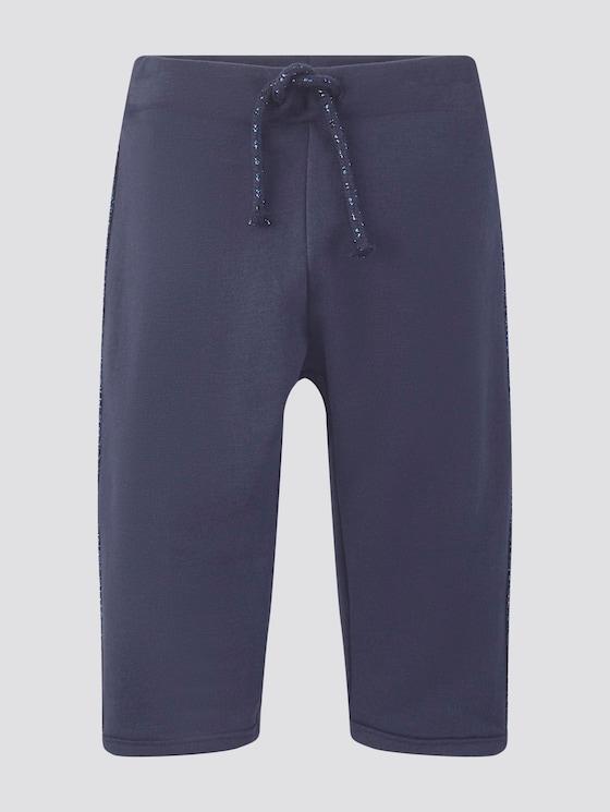 Jogginghose mit Glitzer-Streifen - Babies - black iris|blue - 7 - Tom Tailor E-Shop Kollektion