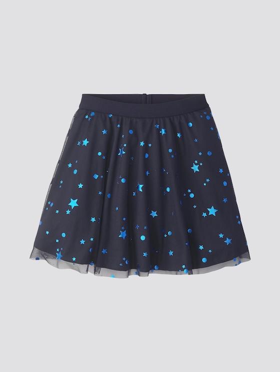Tüllrock mit Stern-Muster - Mädchen - night sky|blue - 7 - Tom Tailor E-Shop Kollektion