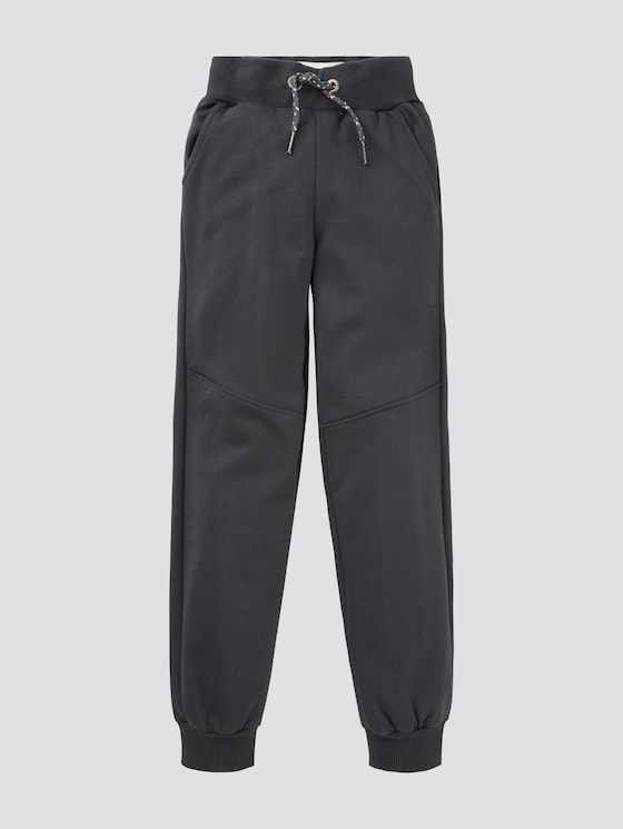 Cosy jogging bottoms  - Boys - dark navy|blue - 7 - Tom Tailor E-Shop Kollektion