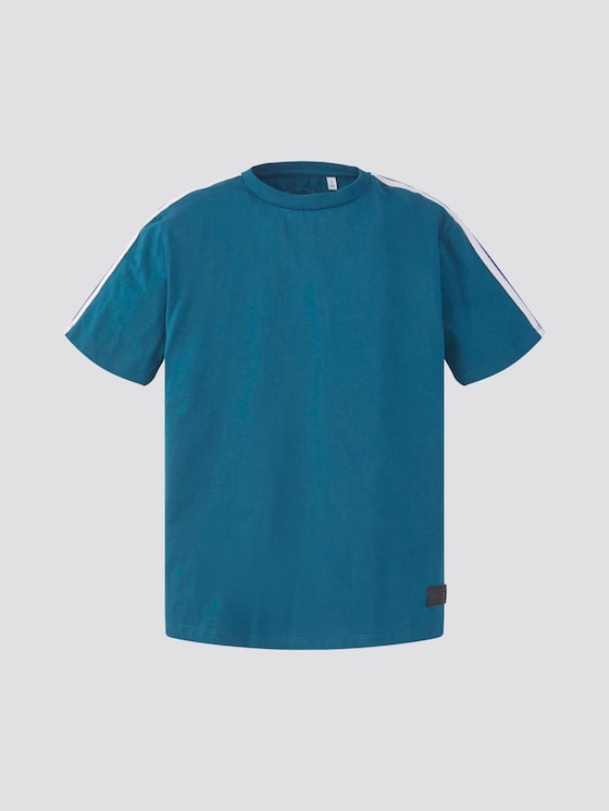 T-Shirt mit Tape-Detail - Jungen - ink blue|blue - 7 - TOM TAILOR