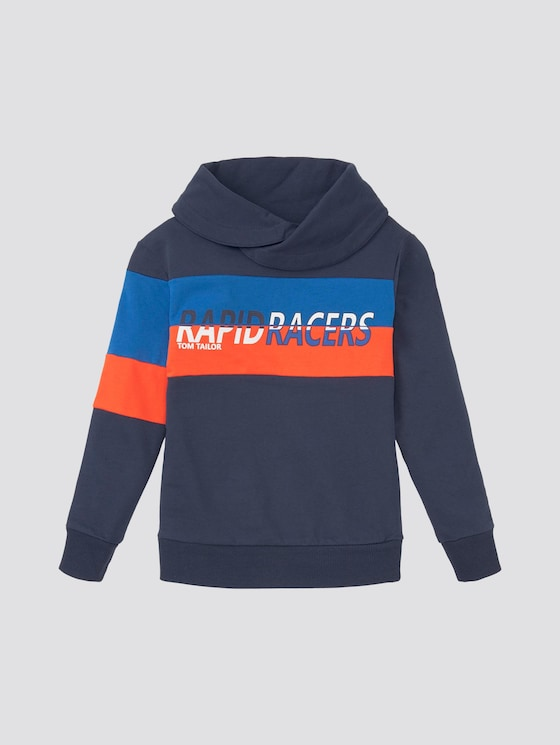 Sweatshirt mit Stehkragen - Jungen - dress blue|blue - 7 - Tom Tailor E-Shop Kollektion