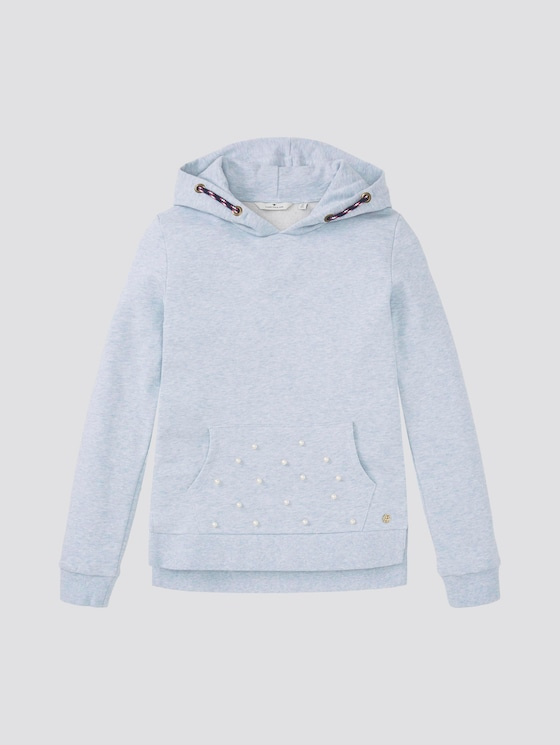 Hoodie mit Artwork - Mädchen - regatta|blue - 7 - Tom Tailor E-Shop Kollektion