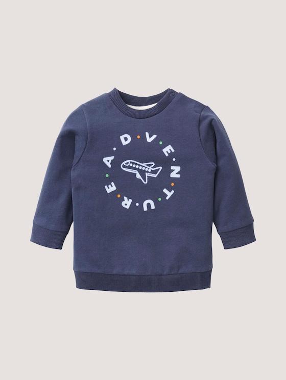 Sweatshirt mit Piloten-Artwork - Babies - navy blazer|blue - 7 - TOM TAILOR