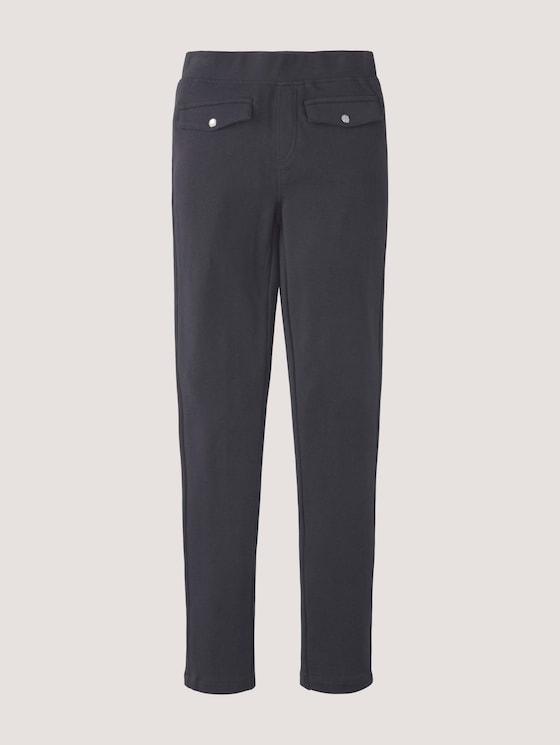 Strukturierte Leggings mit Taschen - Mädchen - night sky blue - 7 - Tom Tailor E-Shop Kollektion