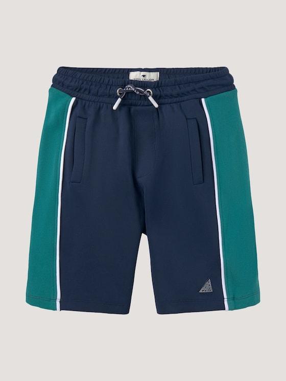 Bermuda trousers in a jersey look - Boys - dress blue blue - 7 - Tom Tailor E-Shop Kollektion
