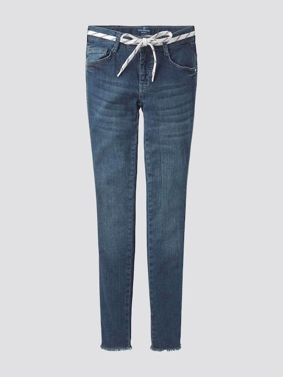 Lace-Up Jeans - Meisjes - dark blue denim blue - 7 - Tom Tailor E-Shop Kollektion