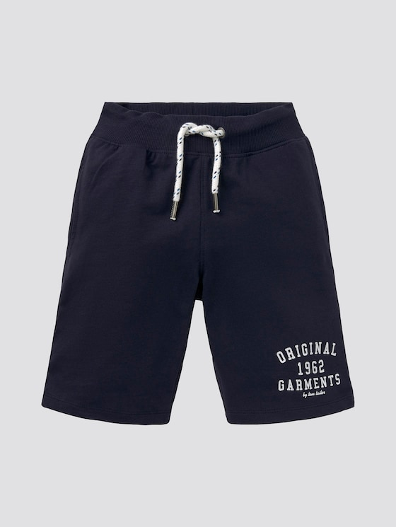 Tom Sweatshorts im Used-Look - Jungen - real navy blue1|blue - 7 - Tom Tailor E-Shop Kollektion