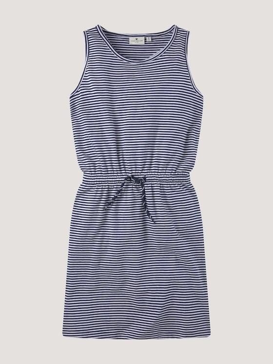 Dress with a drawstring - Girls - peacoat blue - 7 - Tom Tailor E-Shop Kollektion