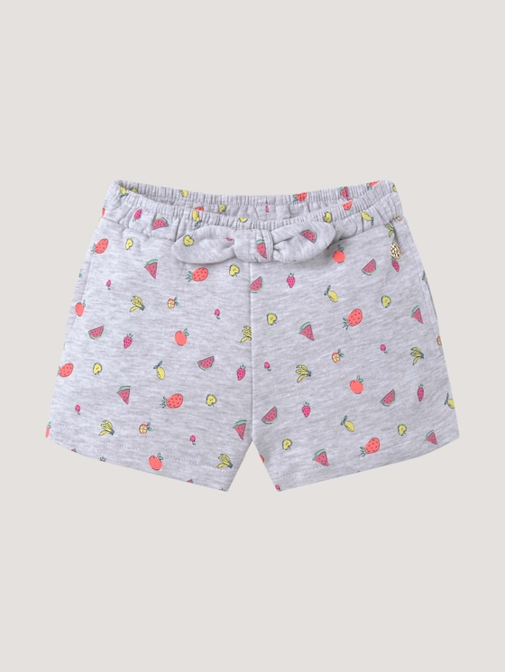 Fabric shorts with bow details - Girls - allover|multicolored - 7 - Tom Tailor E-Shop Kollektion